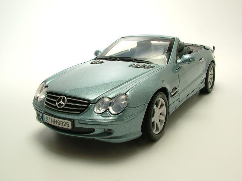 mercedes sl 500 cabrio r230 2002 silberblau metallic. Black Bedroom Furniture Sets. Home Design Ideas