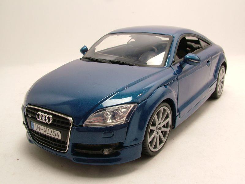 audi tt coupe 2007 blau metallic modellauto 1 18. Black Bedroom Furniture Sets. Home Design Ideas
