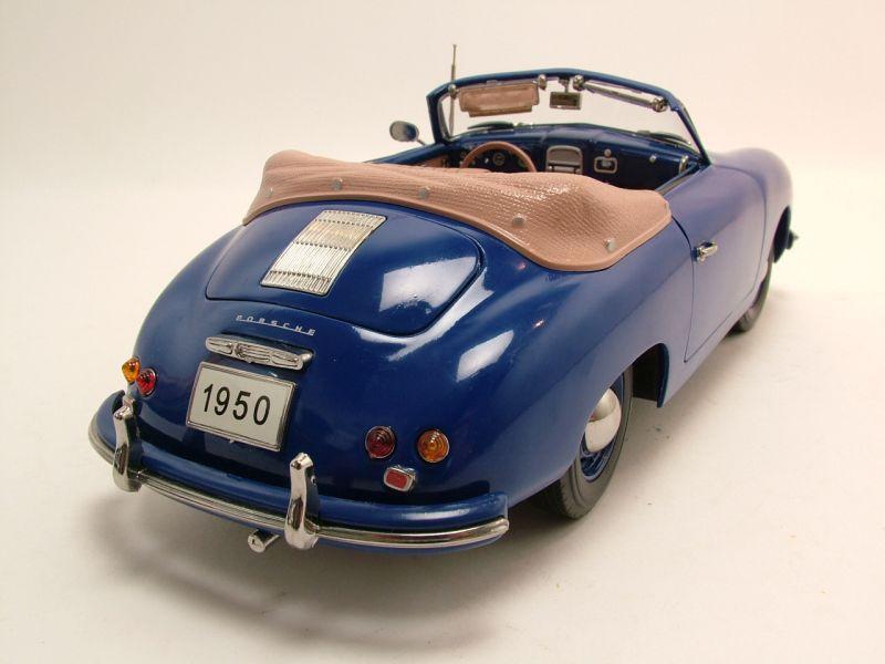 porsche 356 cabrio 1950 blau modellauto 1 18 signature. Black Bedroom Furniture Sets. Home Design Ideas