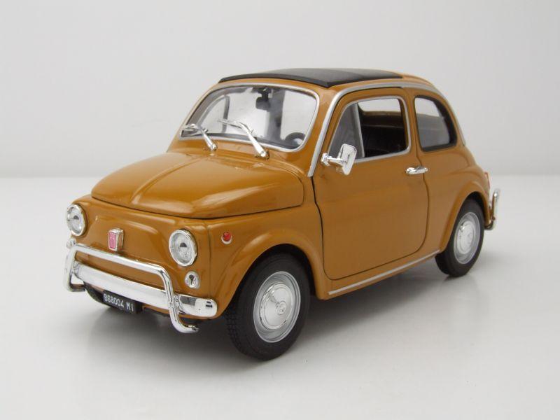 Fiat Nuova 500 1957 senf Modellauto 1:18 Welly