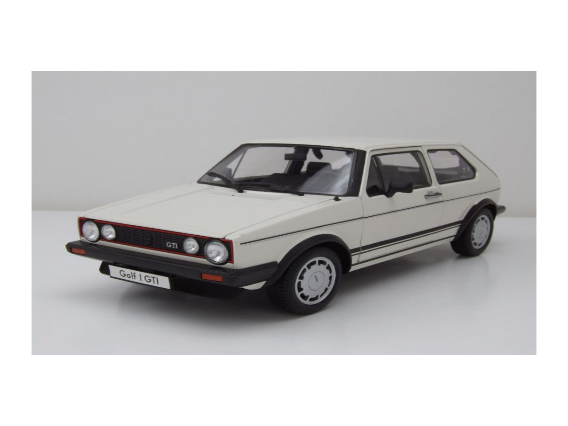 Modellauto Vw Golf 1 Gti Pirelli Weiß Modellauto 118 Welly 3895