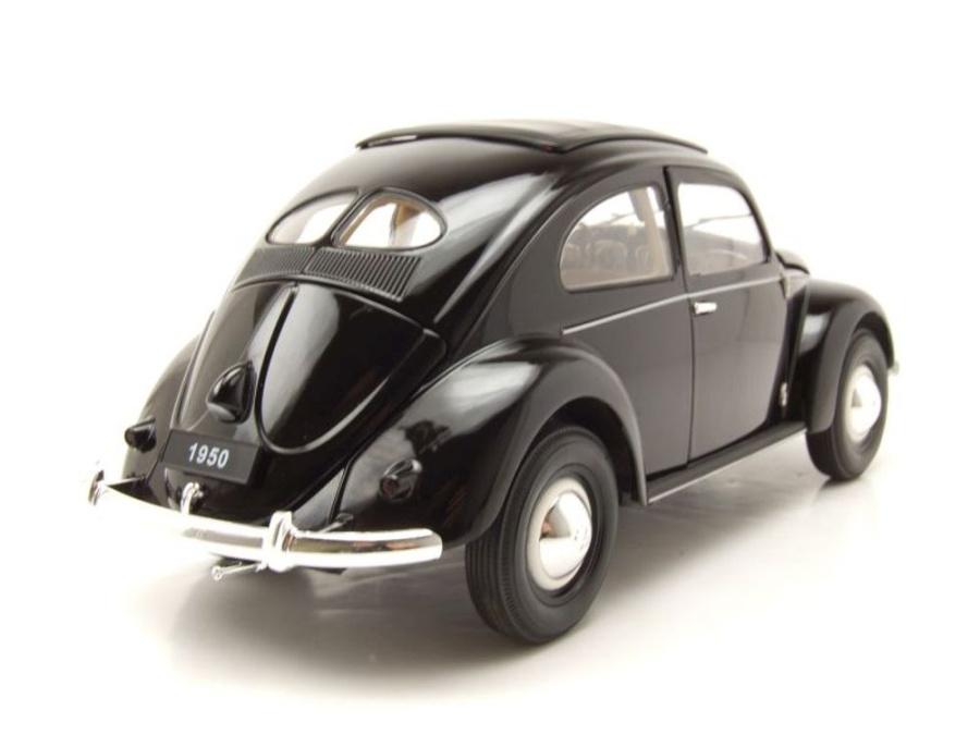vw k fer brezelk fer 1950 schwarz modellauto 1 18. Black Bedroom Furniture Sets. Home Design Ideas