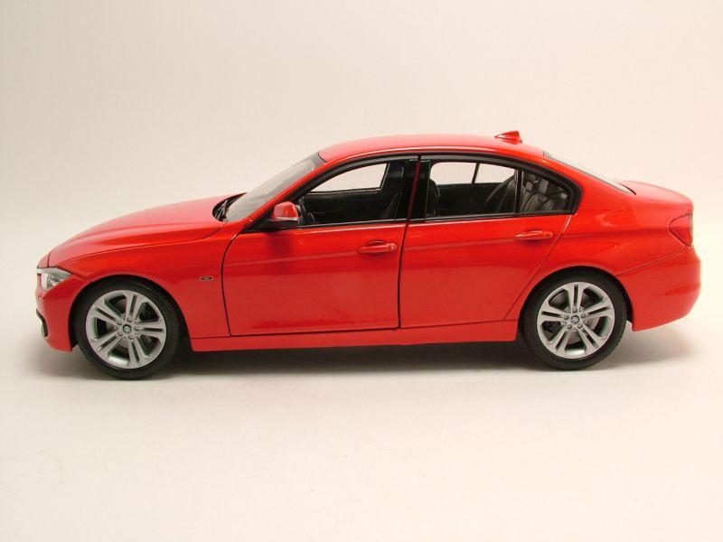 BMW 335I Convertible >> Modellauto BMW 335i (F30) 2012 rot Modellauto 1:18 Welly ...