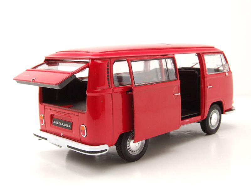 VW Bus T2 Rot Modell 1:24 NEU /& OVP