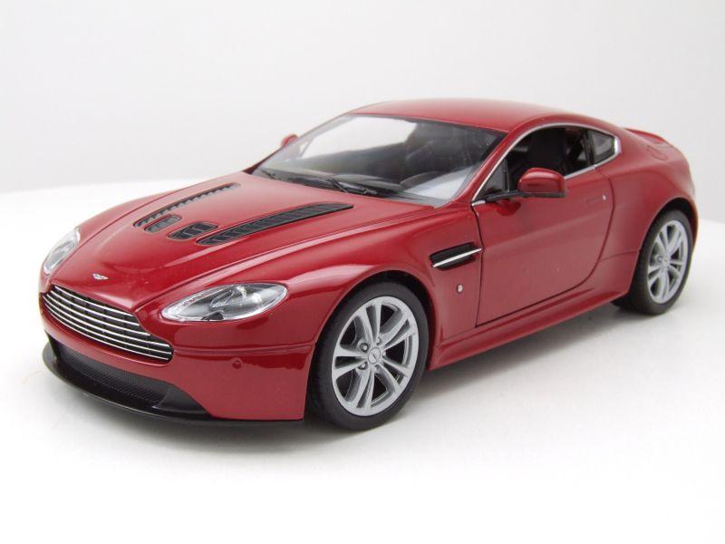 Aston Martin V12 Vantage 2010 rot-metallic 1:24 WELLY