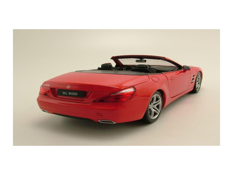 mercedes sl 500 cabrio r231 2012 rot modellauto 1 24. Black Bedroom Furniture Sets. Home Design Ideas