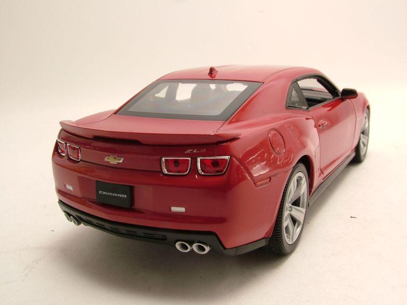 modellauto chevrolet camaro zl1 2012 rot modellauto 1 24. Black Bedroom Furniture Sets. Home Design Ideas