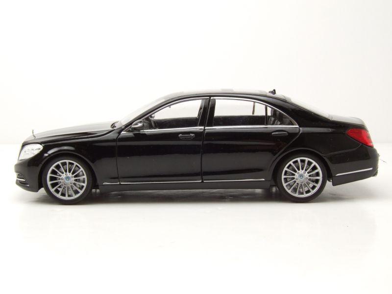 mercedes s klasse w222 2013 schwarz modellauto 1 24. Black Bedroom Furniture Sets. Home Design Ideas